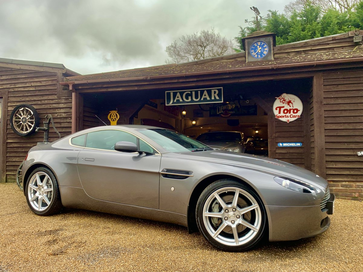 2006 ASTON MARTIN V8 VANTAGE. ONE OWNER 55,000 MILES! SOLD (picture 1 of 6)