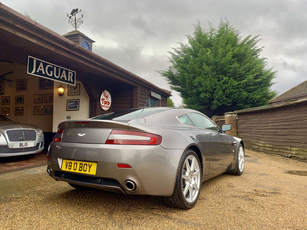 2006 ASTON MARTIN V8 VANTAGE. ONE OWNER 55,000 MILES! SOLD (picture 2 of 6)
