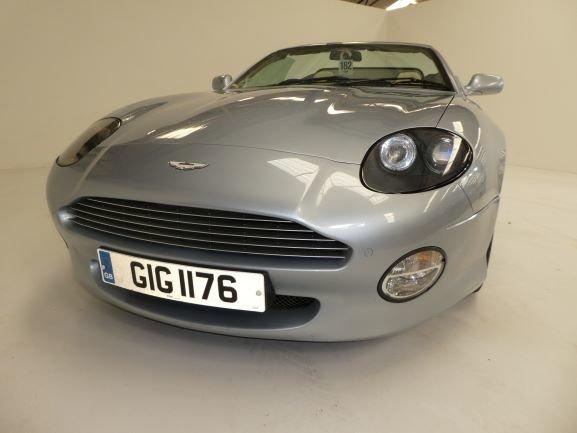 2001 Aston Martin DB7 Vantage Volante Convertible Auto For Sale (picture 1 of 6)