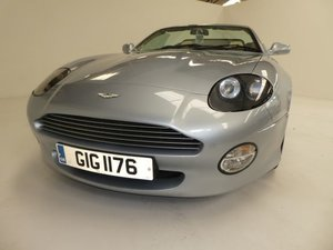2001 Aston Martin DB7 Vantage Volante Convertible Auto For Sale