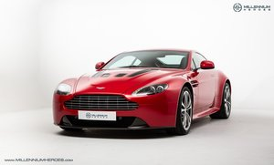 2010 ASTON MARTIN V12 VANTAGE // MANUAL // SPECIAL ORDER FIRE RED For Sale