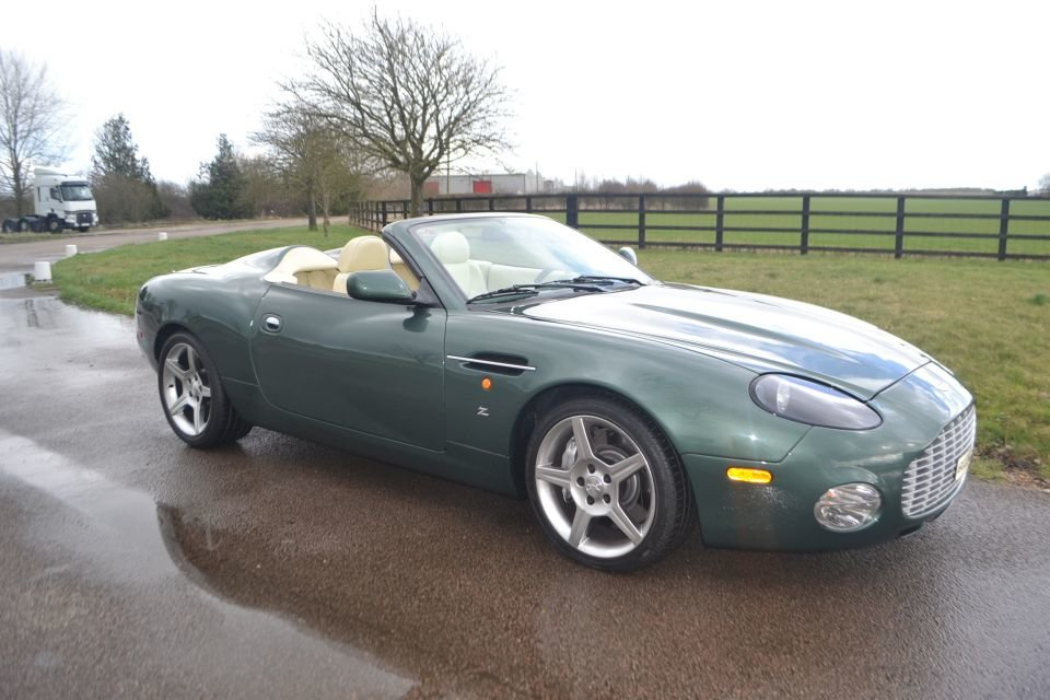 2003 Aston Martin Zagato AR 1 chassis number ONE For Sale (picture 1 of 6)