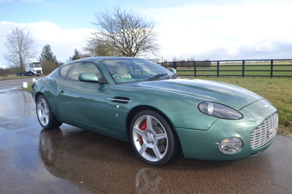 2004 Aston Martin DB7 Zagato For Sale (picture 1 of 6)