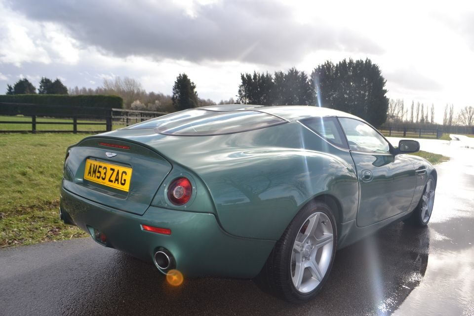 2004 Aston Martin DB7 Zagato For Sale (picture 3 of 6)