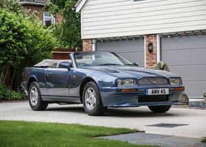 1992 Aston Martin Virage Volante SOLD