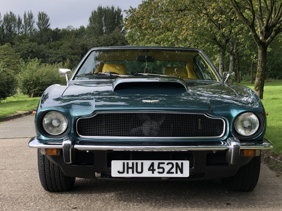 1974 Aston martin V8 Series 111 , low mileage example For Sale (picture 2 of 6)