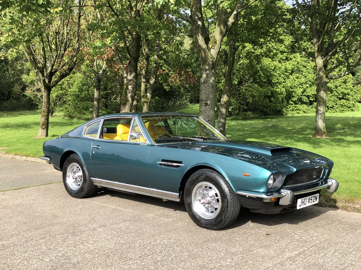 1974 Aston martin V8 Series 111 , low mileage example For Sale (picture 5 of 6)