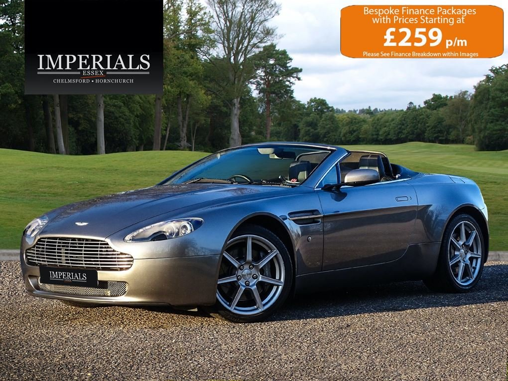 2008 Aston Martin  VANTAGE  V8 ROADSTER CAB SPORTSHIFT AUTO  31,9 For Sale (picture 1 of 19)