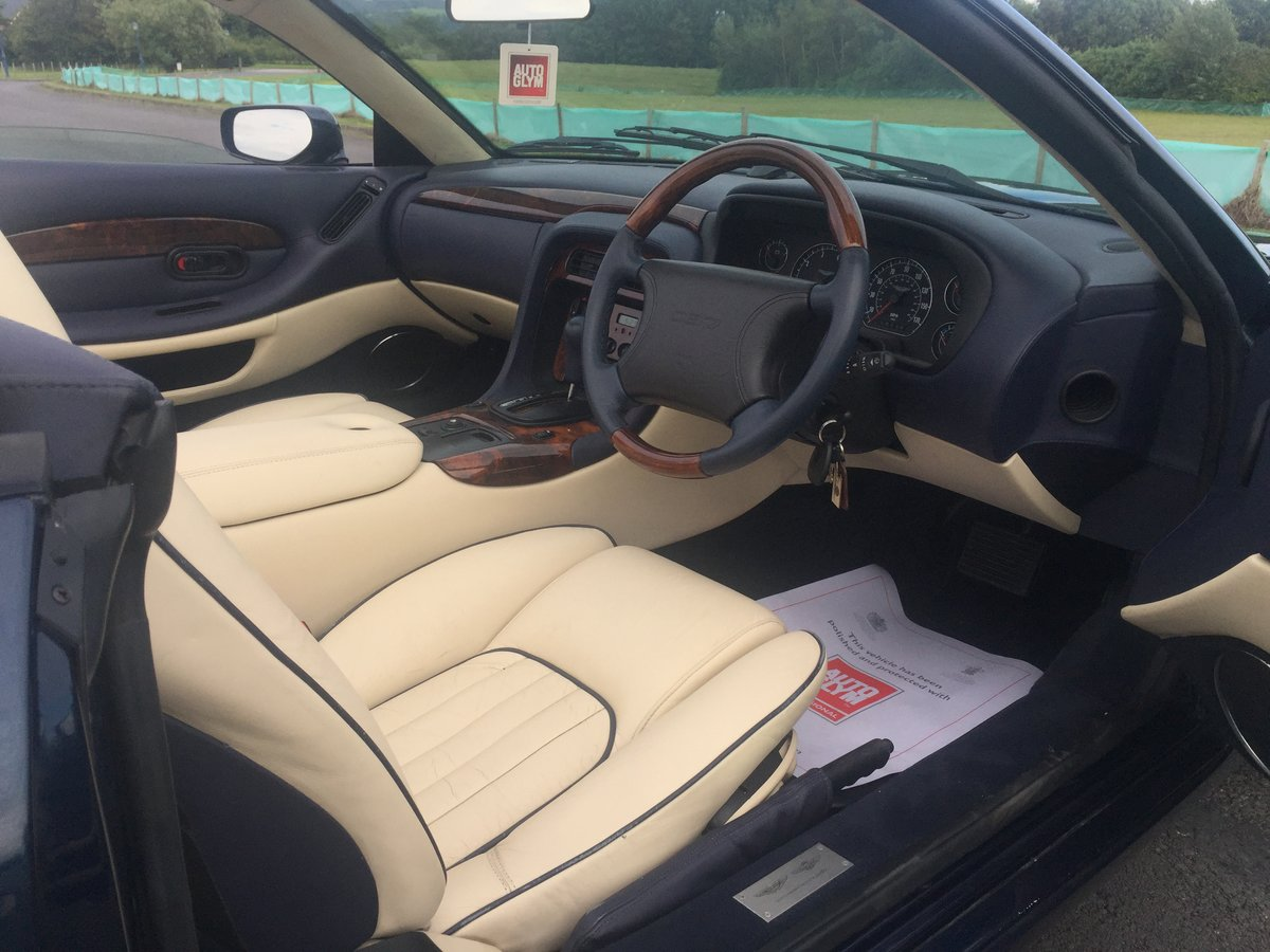 1997 Aston Martin DB7 Volante Automatic I6 Supercharged For Sale (picture 3 of 6)