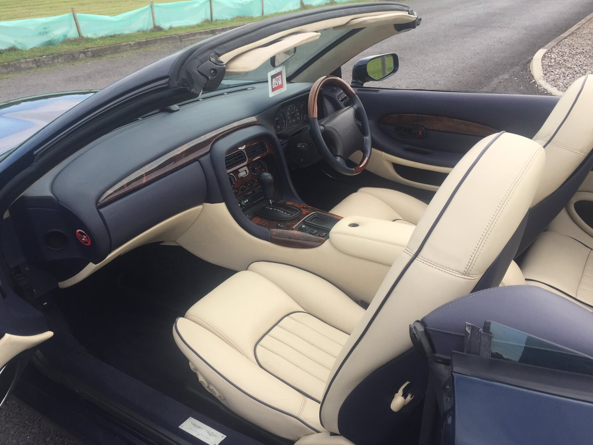1997 Aston Martin DB7 Volante Automatic I6 Supercharged For Sale (picture 4 of 6)
