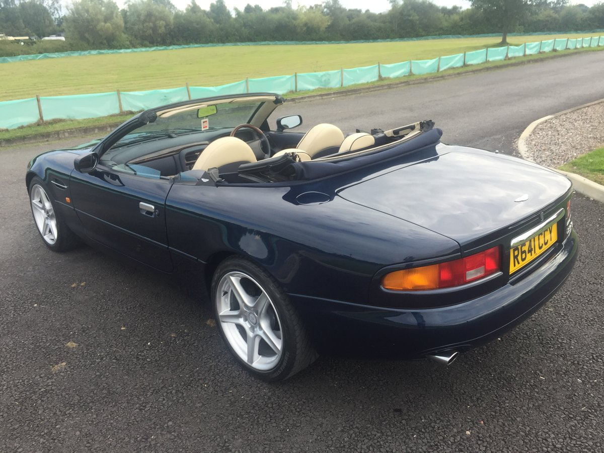 1997 Aston Martin DB7 Volante Automatic I6 Supercharged For Sale (picture 2 of 6)