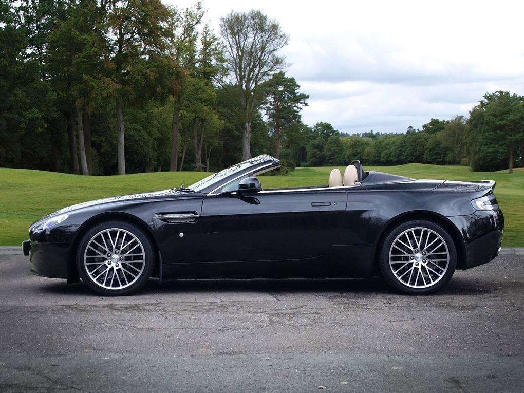 Aston Martin  VANTAGE  V8 ROADSTER 4.7 V8 CABRIOLET 2010 FAC For Sale (picture 2 of 16)