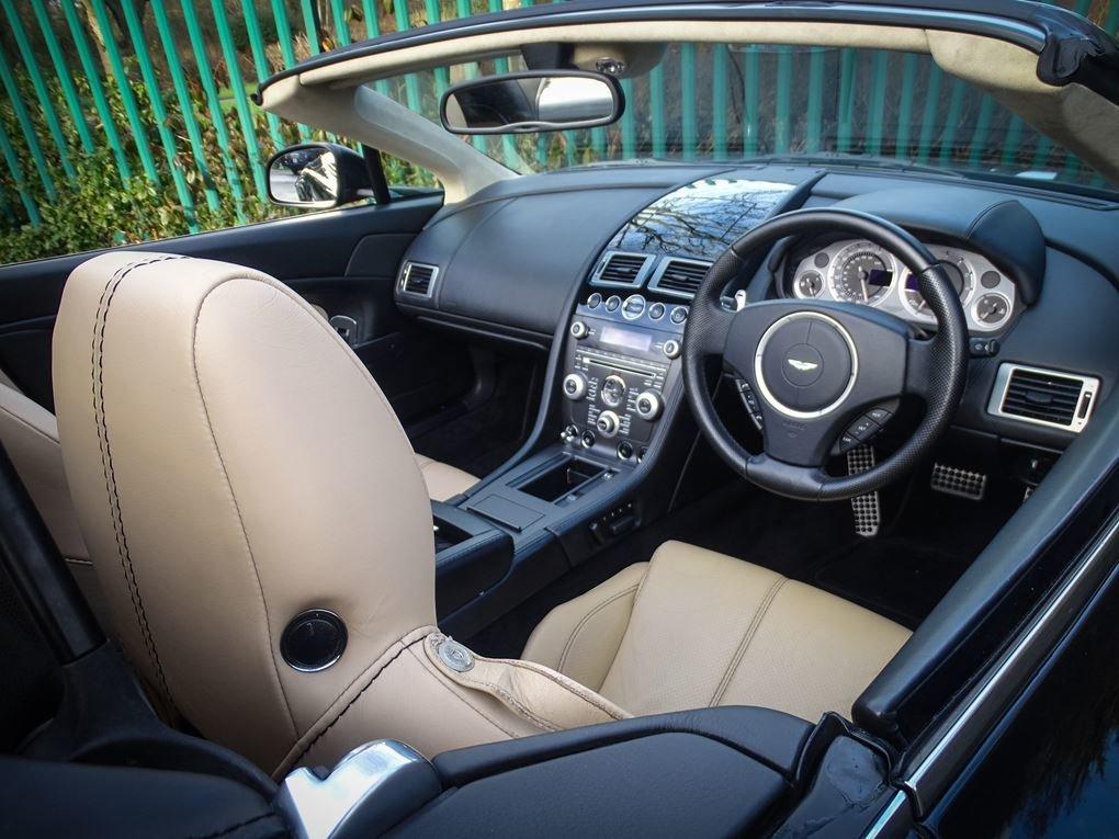 Aston Martin  VANTAGE  V8 ROADSTER 4.7 V8 CABRIOLET 2010 FAC For Sale (picture 6 of 16)