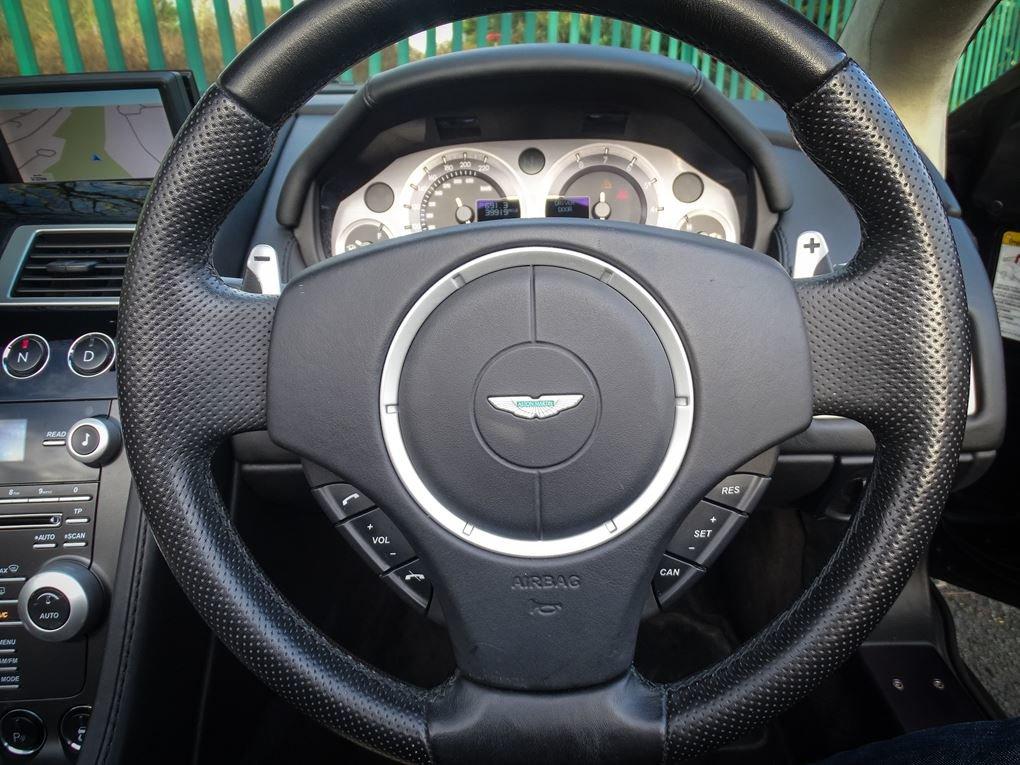 Aston Martin  VANTAGE  V8 ROADSTER 4.7 V8 CABRIOLET 2010 FAC For Sale (picture 7 of 16)