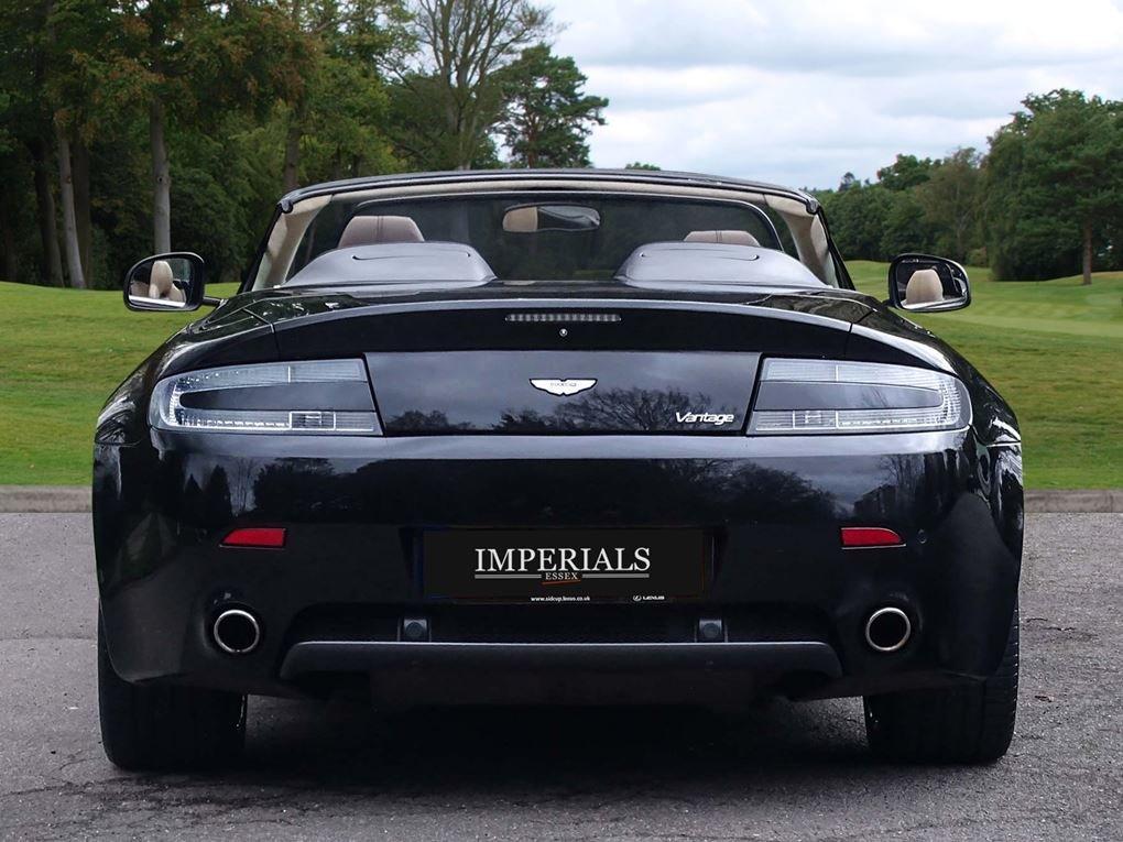 Aston Martin  VANTAGE  V8 ROADSTER 4.7 V8 CABRIOLET 2010 FAC For Sale (picture 12 of 16)