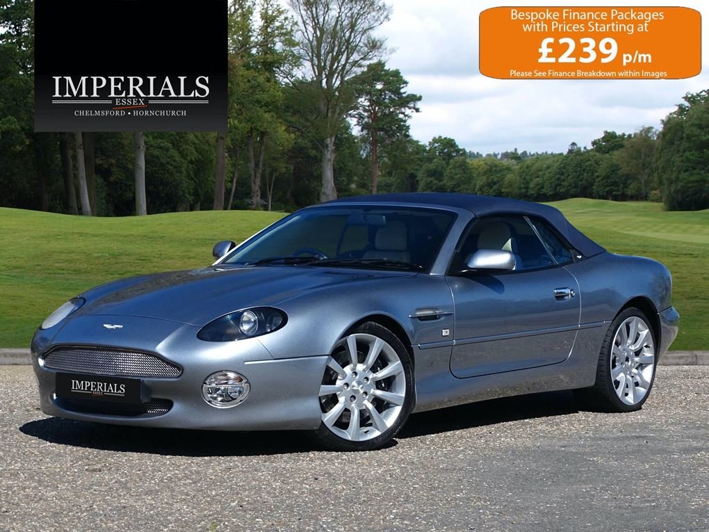 2003 Aston Martin  DB7  VANTAGE VOLANTE AUTO  34,948 For Sale (picture 1 of 20)