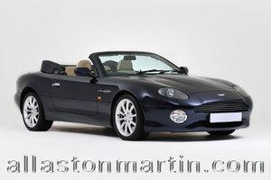 2002 Rare Manual Aston Martin DB7 Vantage Volante For Sale