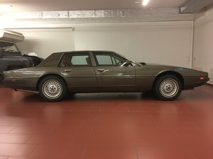 Aston Martin Lagonda with AML total restoration