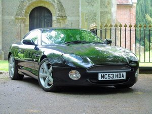2004 Aston Martin DB7 5.9 GTA 2dr EXCEPTIONAL AND RARE GTA