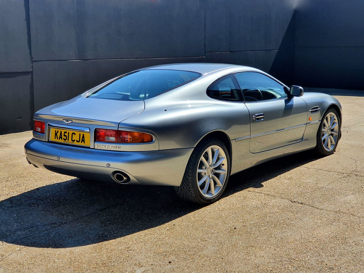 2001 Aston Martin DB7 Vantage Coupe - Immaculate For Sale (picture 3 of 6)