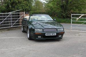 1995 Aston Martin Virage Volante Widebody, Factory Showcase Demo