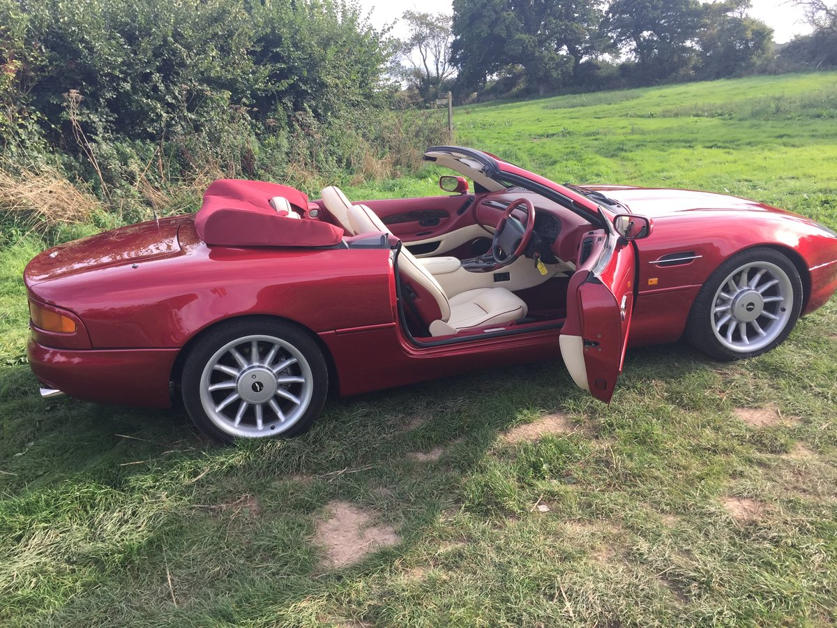 1996 Stunning Cleveland Red metallic For Sale (picture 3 of 6)