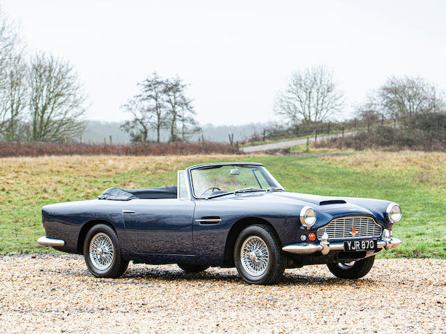 1963 ASTON MARTIN DB4 'SERIES 5' VANTAGE CONVERTIBLE For Sale (picture 1 of 1)