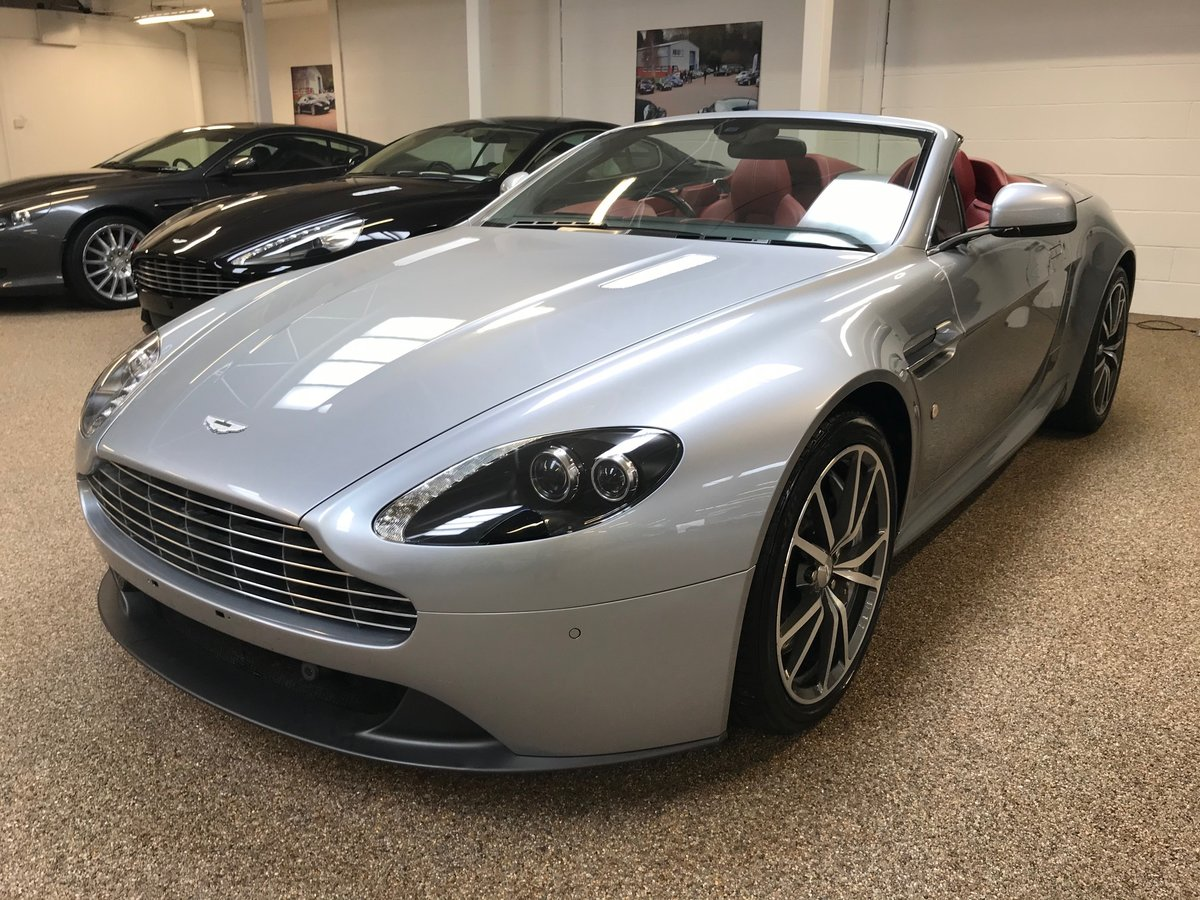 2013 ASTON MARTIN V8 VANTAGE 4.7 ROADSTER FOR SALE For Sale (picture 1 of 6)