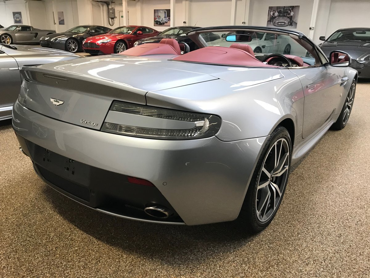 2013 ASTON MARTIN V8 VANTAGE 4.7 ROADSTER FOR SALE For Sale (picture 2 of 6)