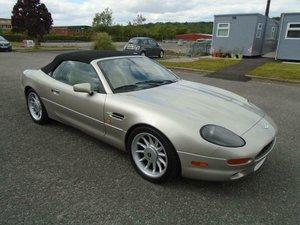1998 ASTON MARTIN DB7 3.2 AUTO VOLANTE LHD CONV SOLD
