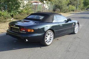 1999 Aston Martin DB7 VANTAGE VOLANTE MANUAL TRANS