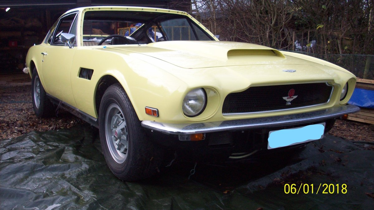 1974 Aston Martin V8 part restored For Sale (picture 1 of 5)