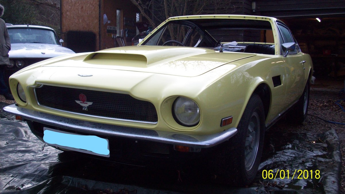 1974 Aston Martin V8 part restored For Sale (picture 2 of 5)