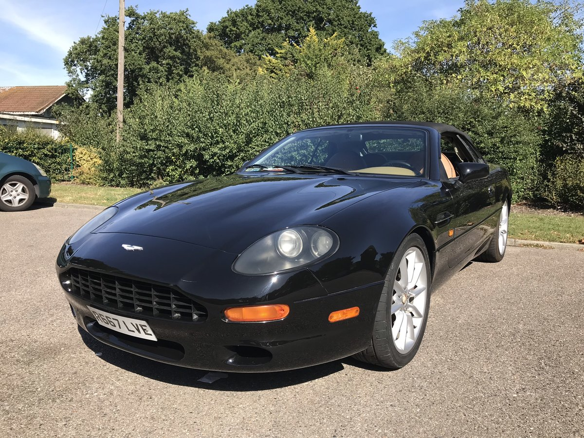 1998 ASTON MARTIN DB7 CONVERTIBLE SOLD (picture 2 of 6)