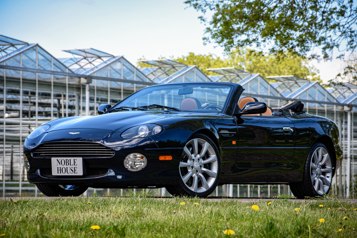 2002 Aston Martin DB7 Vantage Volante – manual gearbox For Sale (picture 1 of 6)
