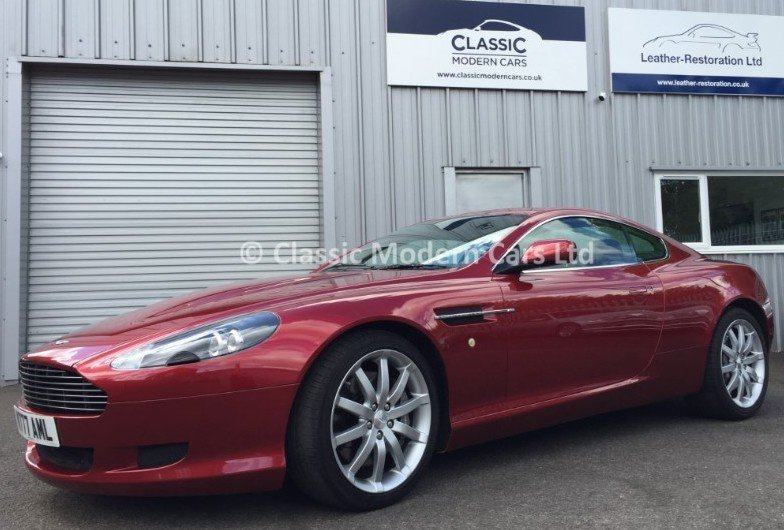 2005 Aston Martin DB9, 14K Miles - ULEZ,      For Sale (picture 1 of 6)