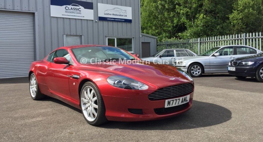 2005 Aston Martin DB9, 14K Miles - ULEZ,      For Sale (picture 2 of 6)