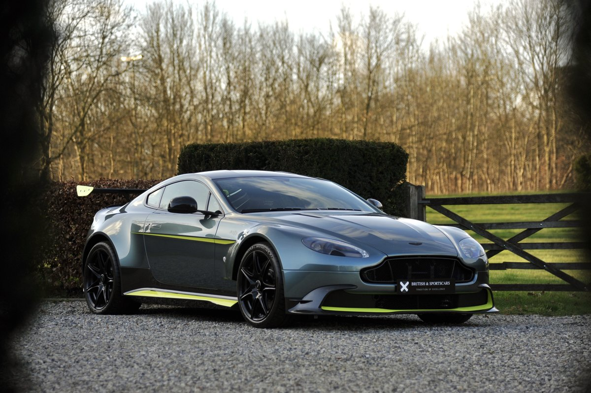 2018 Aston Martin Vantage GT8 - ex.1 of 150 For Sale (picture 1 of 6)