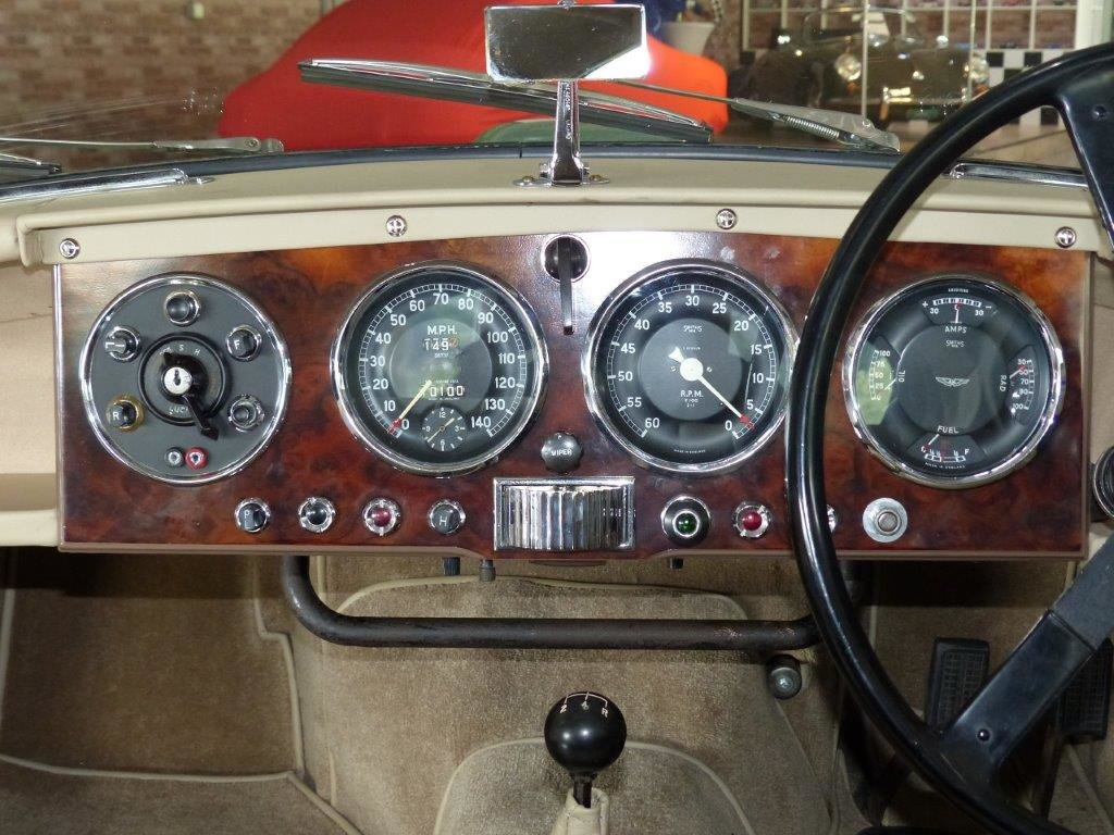 1954 Ersthand-DB2/4 mit Heritage-, ASI- und FIVA-Zertifikaten For Sale (picture 5 of 6)
