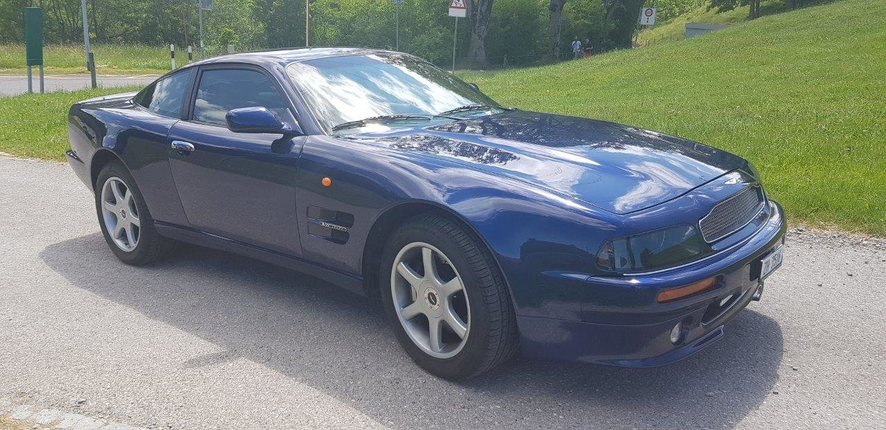 1998 Aston Martin V8 Coupe, 1 of 30 LHD, mint condition For Sale (picture 2 of 6)