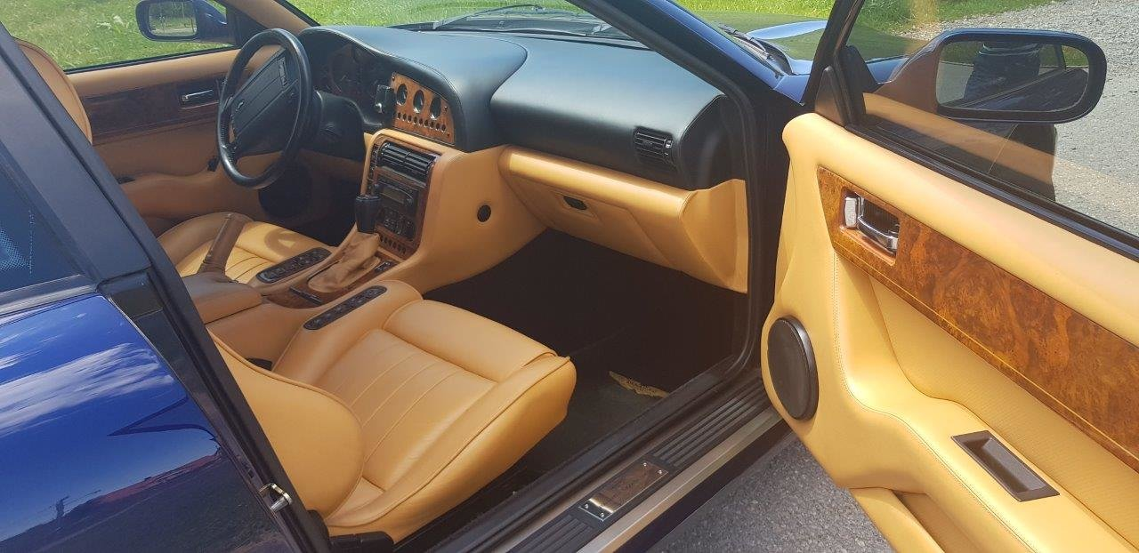 1998 Aston Martin V8 Coupe, 1 of 30 LHD, mint condition For Sale (picture 6 of 6)