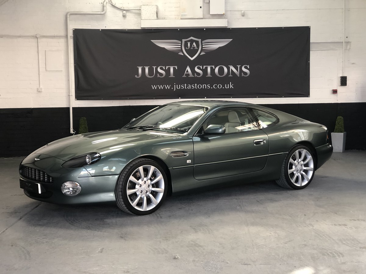 2000 Aston Martin DB7 Vanatge Coupe Auto 32K Miles Stunning  For Sale (picture 1 of 6)