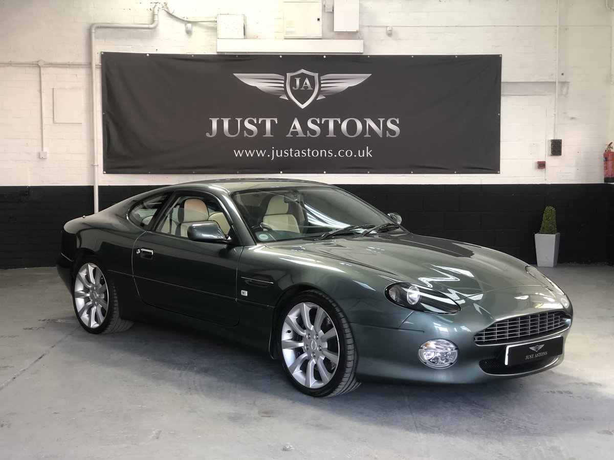 2000 Aston Martin DB7 Vanatge Coupe Auto 32K Miles Stunning  For Sale (picture 2 of 6)