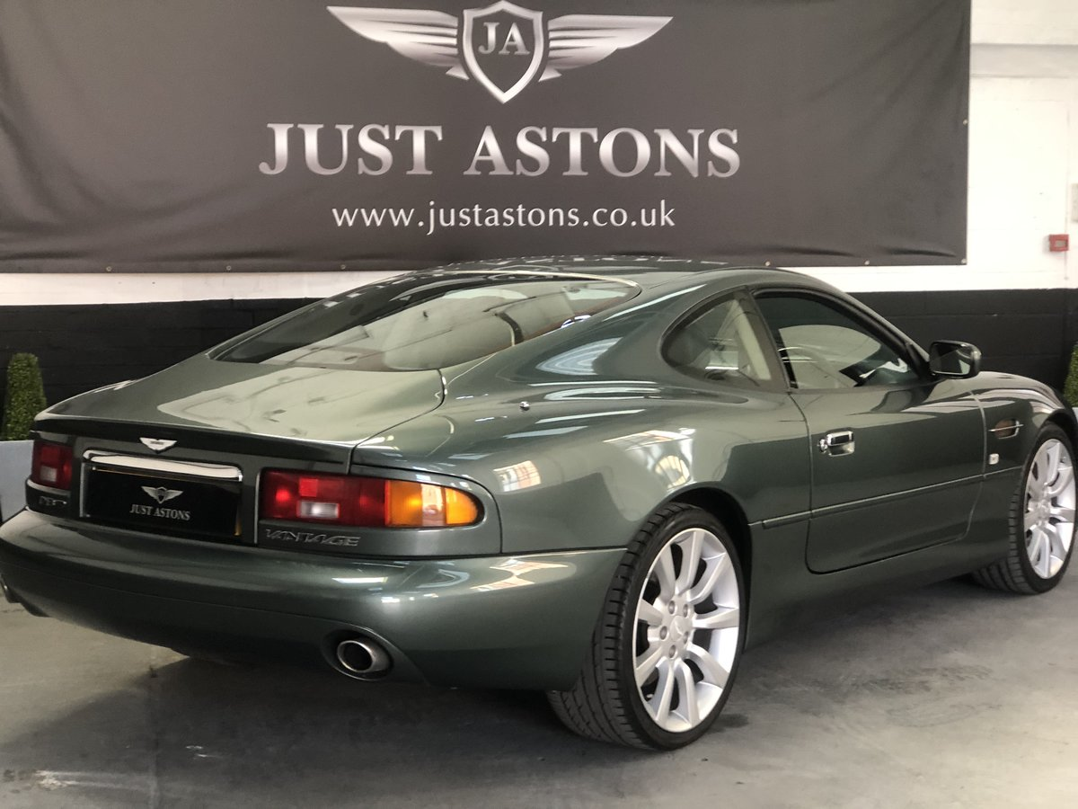 2000 Aston Martin DB7 Vanatge Coupe Auto 32K Miles Stunning  For Sale (picture 3 of 6)