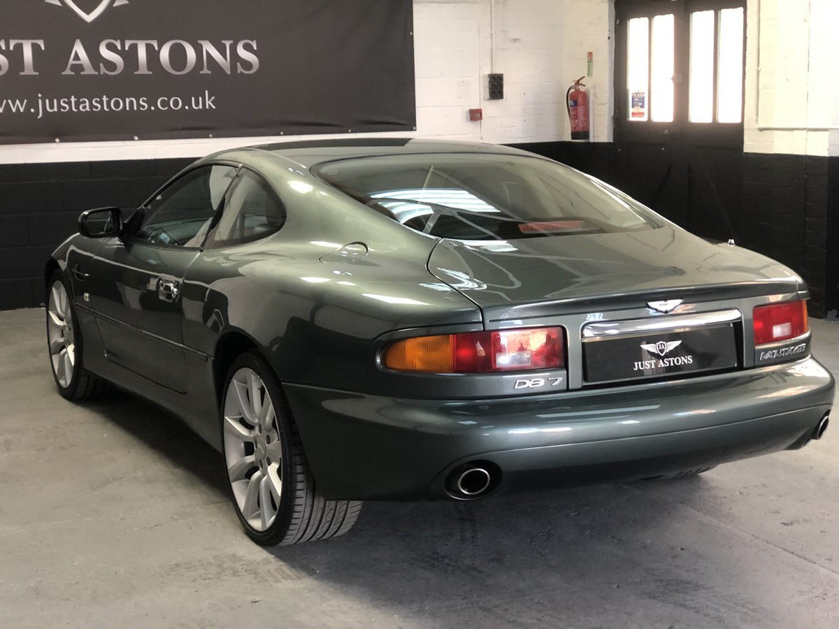 2000 Aston Martin DB7 Vanatge Coupe Auto 32K Miles Stunning  For Sale (picture 4 of 6)