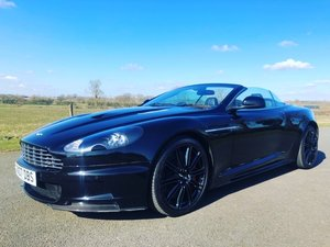 2010 Aston Martin DBS V12 Volante with only 22,000 miles