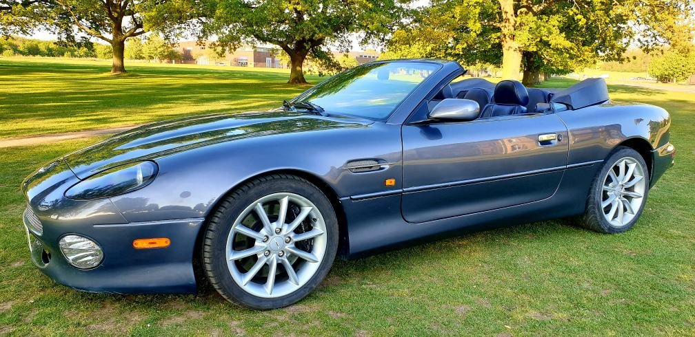 2000 LHD Aston Martin DB7 Vantage Volante5.9,LEFT HAND DRIVE For Sale (picture 3 of 6)
