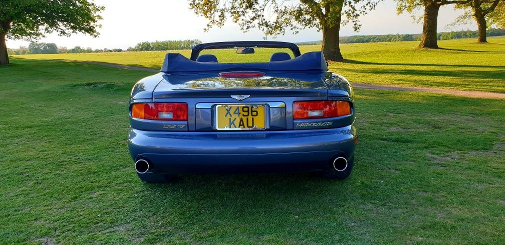 2000 LHD Aston Martin DB7 Vantage Volante5.9,LEFT HAND DRIVE For Sale (picture 4 of 6)