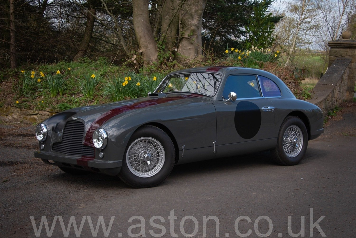 FIA 1952 ASTON MARTIN DB2 Ex-George Abecassis For Sale (picture 1 of 6)