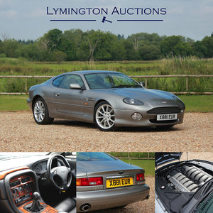 2000 Aston Martin DB7 Vantage Manual V12 Coupe